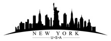 New York City Silhouette - For...