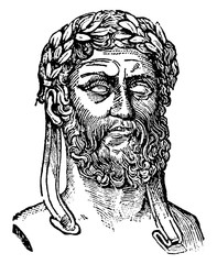 Xenophon, vintage illustration