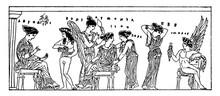 Harmonia Vintage Illustration.