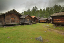 Lappstan In Arvidsjaur, A Historic Sami Church Town In Sweden