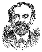 Antonin Dvorak, Vintage Illustration