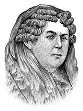 Elizabeth Cady Stanton, Vintage Illustration