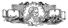 Theocritus, Vintage Illustration