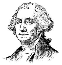 George Washington, Vintage Ill...