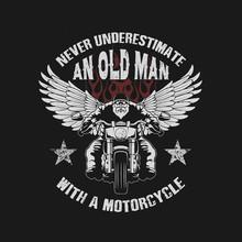 Never Underestimate An Oldman ...