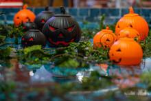 Group Of Halloween Ornament Ja...