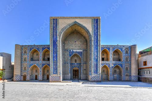 Staande foto Oude gebouw Ulugbek Madrasa - Bukhara, Uzbekistan