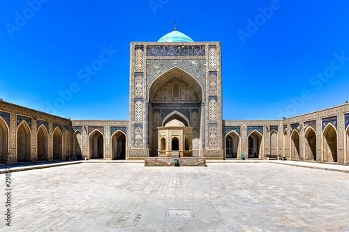 Autocollant pour porte Con. Antique Siddikiyon Mosque - Bukhara, Uzbekistan