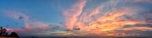 Phuket Beach Sunset, Colorful ...