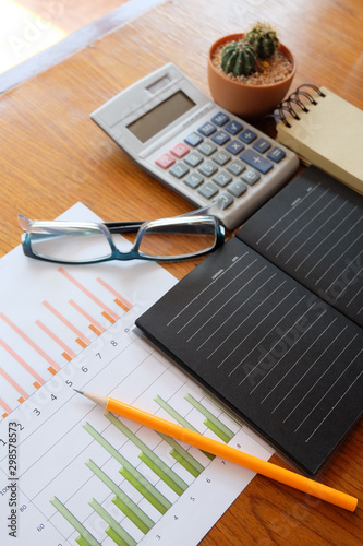 graph paper and calculator - 298578573