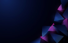 Abstract 3d Polygonal Pattern ...