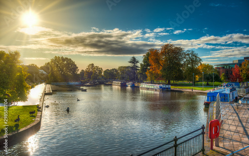 Stratford-upon-Avon, hometown of William Shakespeare Wallpaper Mural