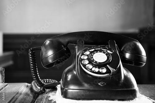 Fototapeta  黒電話