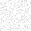 Curls hand drawn seamless pattern