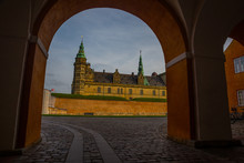 Kronborg Castle, Helsingor, Denmark: Kronborg Is Known By Many Also As Elsinore, The Setting For Much Of William Shakespeare's Famous Tragedy Hamlet, Prince Of Denmark.
