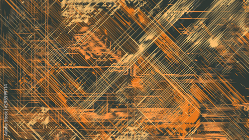 Fotomural  Abstract Vector Background