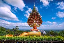 Buddha Statue Of Wat Tham Pha Daen Temple,Sakon Nakhon Province ,Thailand