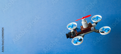 Fotografía Drone multi copter sport competition