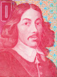 canvas print picture - Jan van Riebeeck a portrait from South African Rand