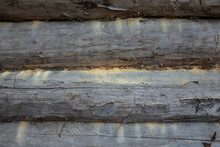 A Fragment Of An Aged Wooden W...