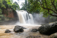 Haew Suwat Waterfall (Nam Tok Haeo Suwat) KHAO YAI NATIONAL PARK / KHORAT PLATEAU, NAKHON RATCHASIMA, THAILAND