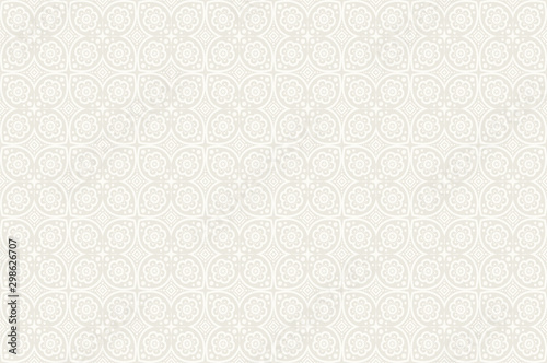 Poster Artificiel Wallpaper Batik background, pattern, ornament, design, fabric, Color Full HD Wallpapers, Magazine cover, publishing and print presentation.
