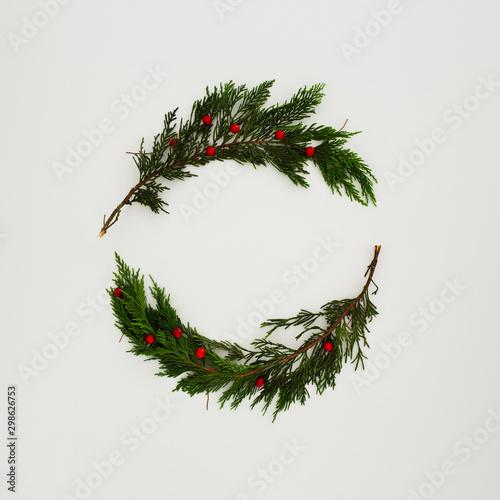 Fotografia, Obraz Composición hecha con elementos navideños