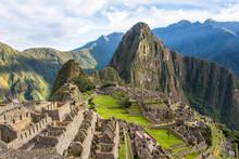 Machu Picchu In Peru Is One Of...