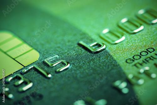 Cuadros en Lienzo credit card macro