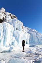 Baikal Lake. Small Sea Strait....