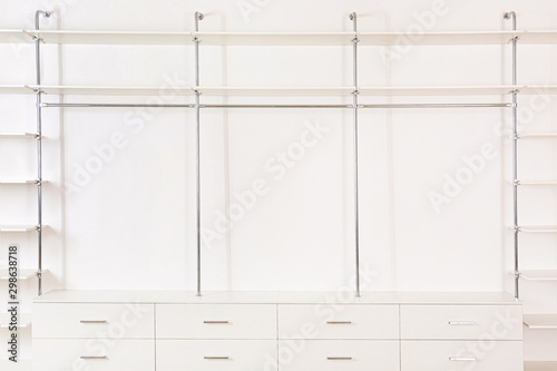 Big empty wardrobe in dressing room Tapéta, Fotótapéta
