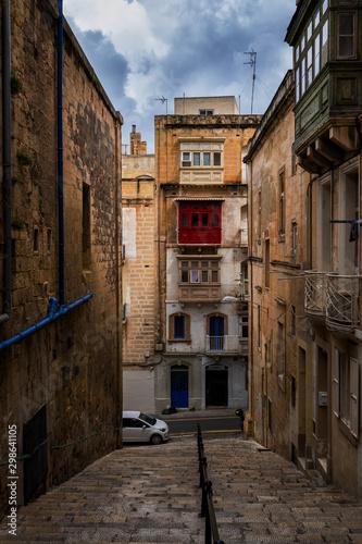 Old City of Valletta in Malta
