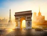 Fototapeta Fototapety Paryż - Symbols of Paris