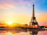Fototapeta Fototapety z wieżą Eiffla - Seine in autumn