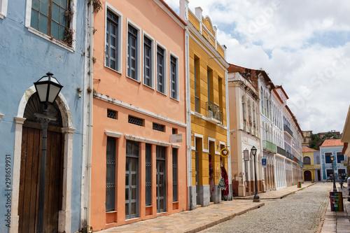 Staande foto Oude gebouw Centro Histórico de São Luís, Maranhão, Brazil