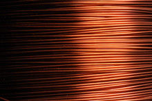 Close-up Of A Coil Of Red Copp...