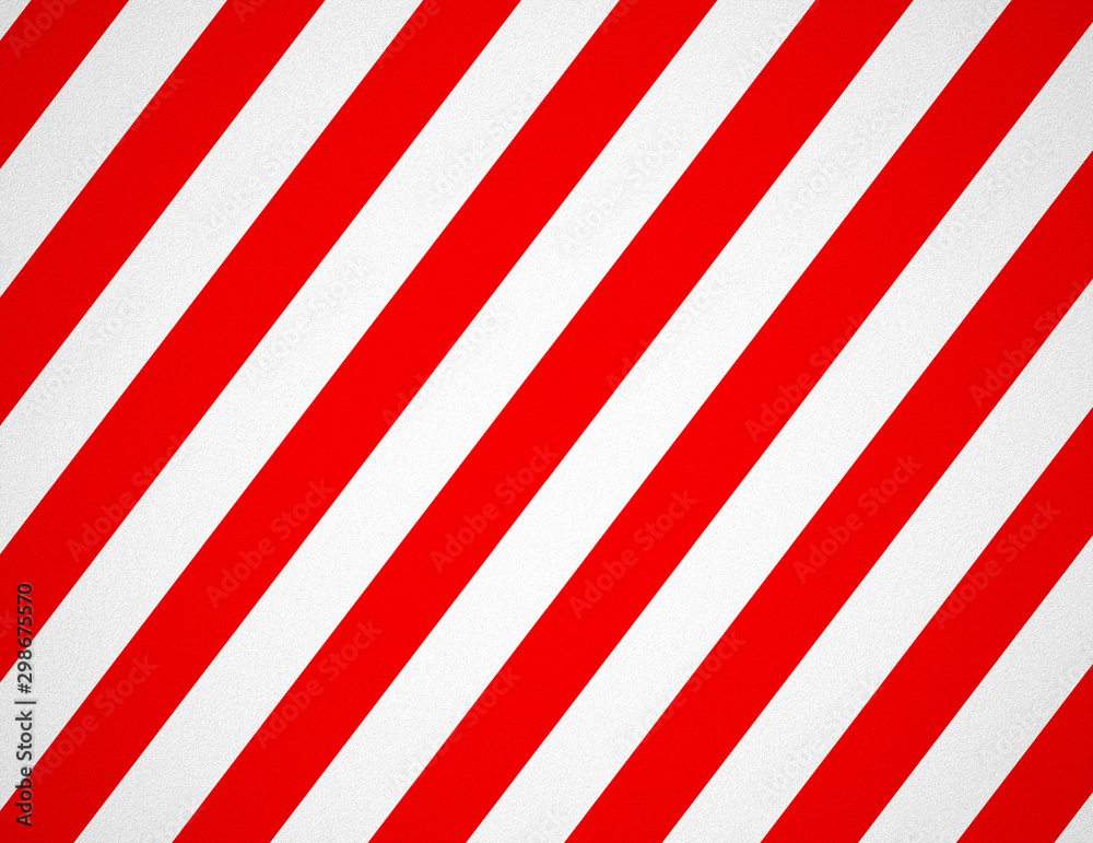 Fototapeta Red and white striped background