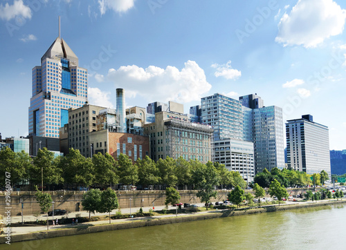 Fototapeta View of Pittsburgh downtown obraz