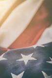 Fototapeta Kawa jest smaczna - American flag for Memorial Day, 4th of July, Labour Day