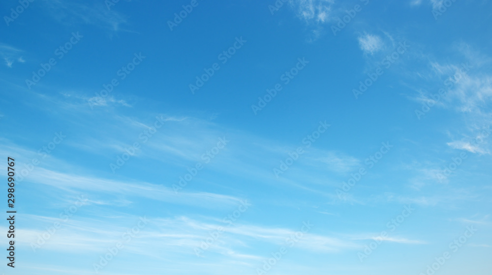 Fototapety, obrazy: Blue sky and clouds