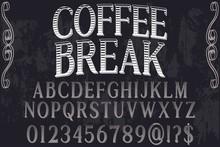 Abc Font Alphabet Script Typef...