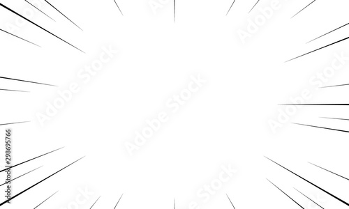 Photo  Black and White Sun Rays pattern background Creative vector design