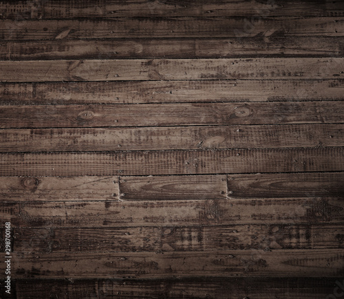 brown wood planks. Fototapete