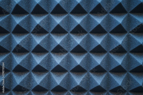 Fotografie, Tablou Foam material specifically for the walls of a recording studio