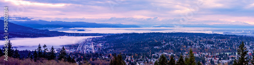 Printed kitchen splashbacks Purple Inversion cloaking Port Moody, Burrard Inlet and Fraser Valley