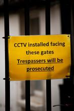CCTV Installed Facing These Ga...
