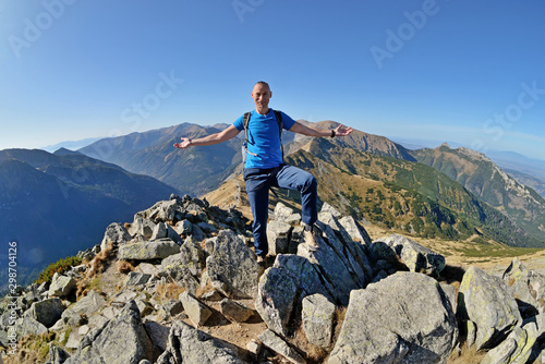 Tatra Mountains - the most beautiful mountains in Poland. Canvas-taulu