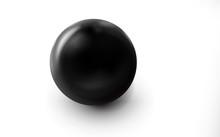 Mockup Of Blank Glossy Black S...