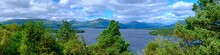 Loch Lomond, One Of The Most Beautiful Lakes In Scotland