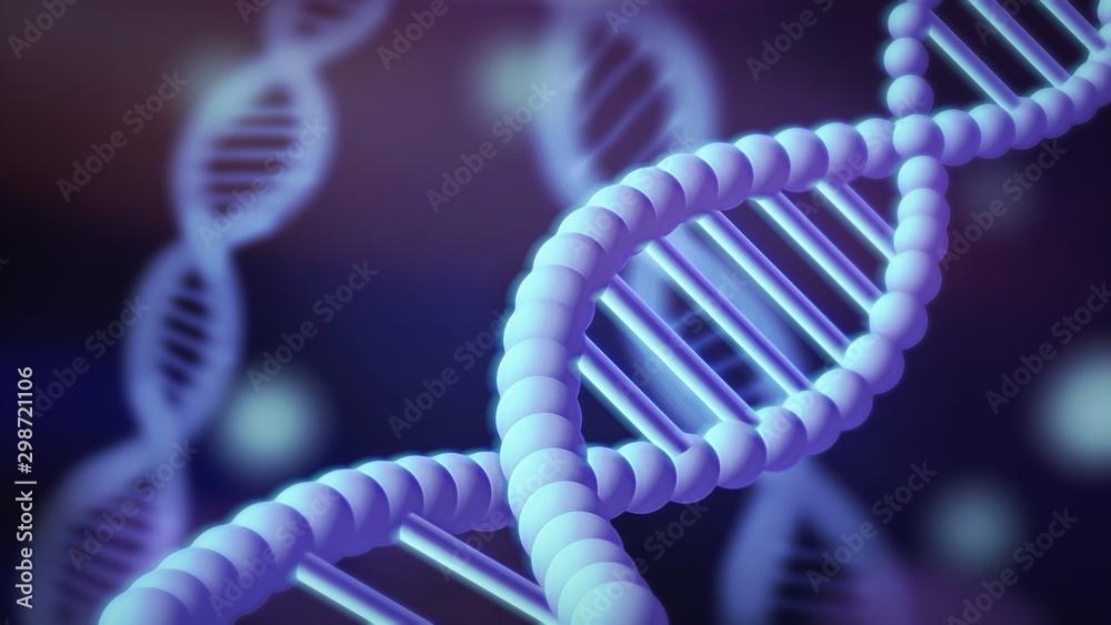 Fototapety, obrazy: Dna helix